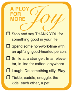 Joy Checklist