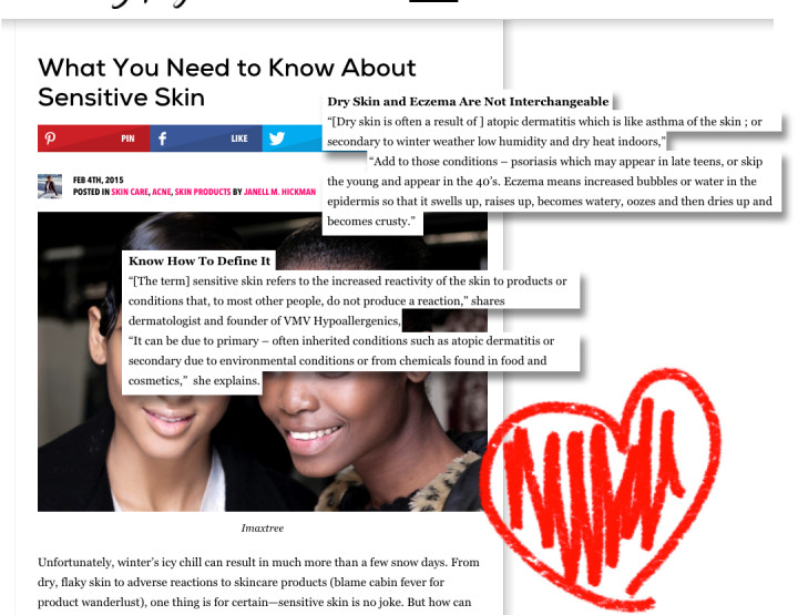 """What You Need to Know About Sensitive Skin"