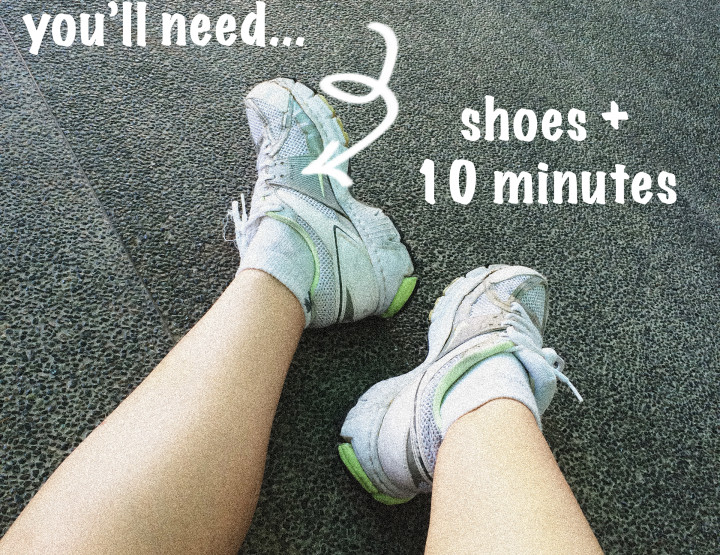 10-Minute Anywhere Workout