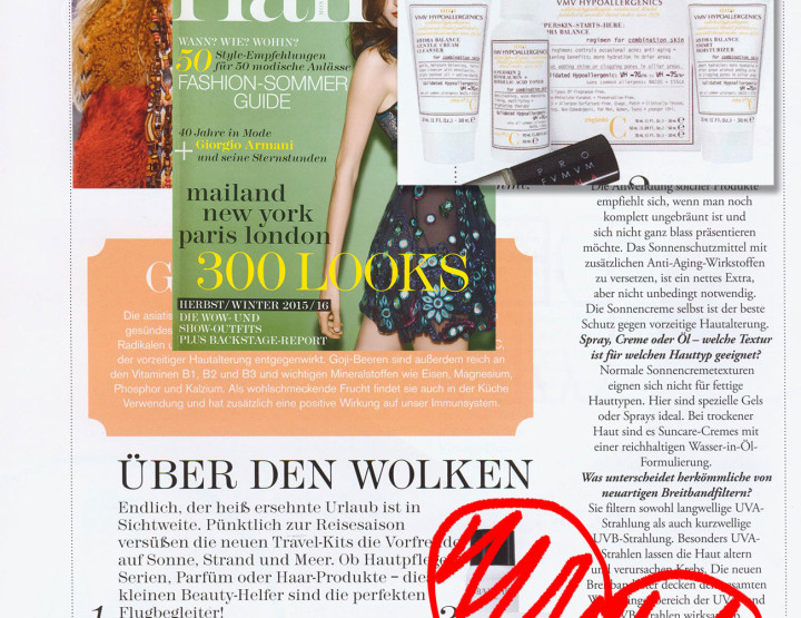 SuperSkin-Starts-Here in Flair Magazine, Germany