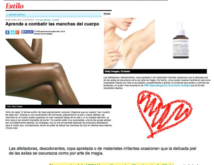Illuminants+ Axillight Treatment Antiperspirant - People Español