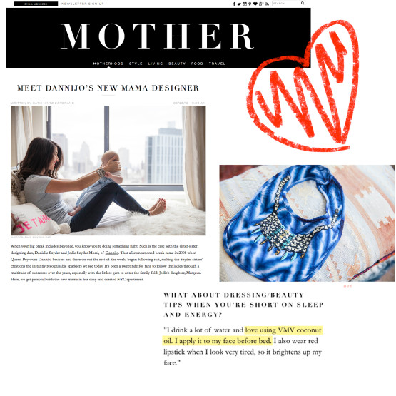 Our Coconut Oil - Jodie Snyder in Mother Magazine
