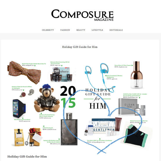 Gift Set For Men - Composure Magazine