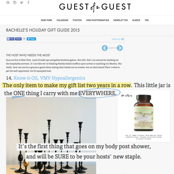 Know-It-Oil - GuestofaGuest.com