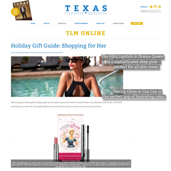 MistleGlow Gift Set - Lifestyle Texas