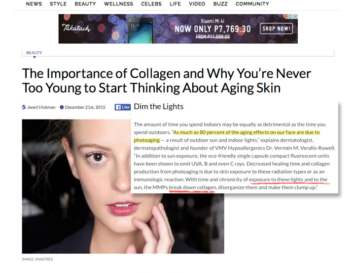Our Founding M.D. on Collagen - TheFashionSpot.com