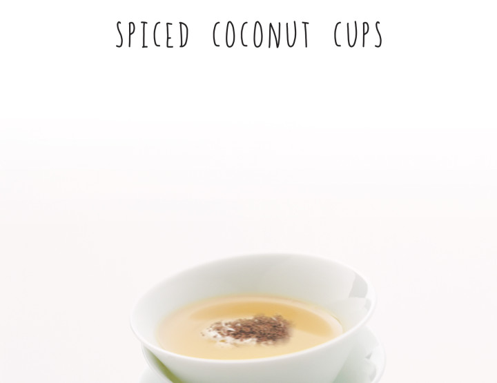 Spiced Coconut Cups