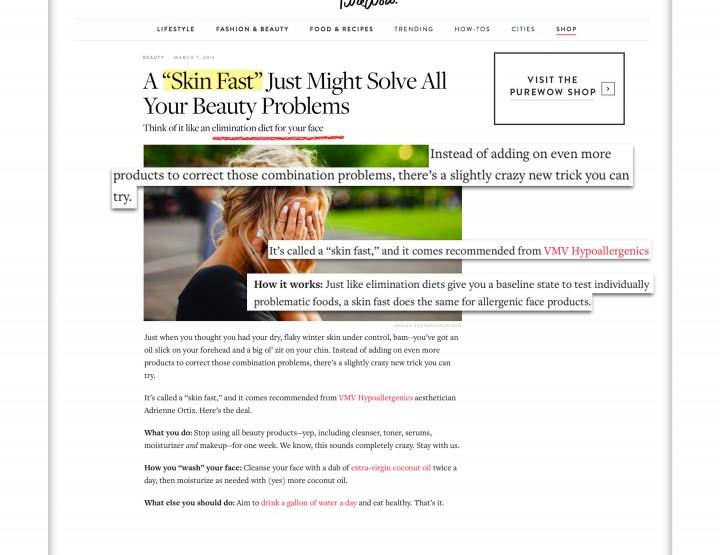 VMV Detox Skin Fast - Pure Wow