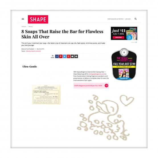 Essence Skin-Saving Body Soap - Shape magazine