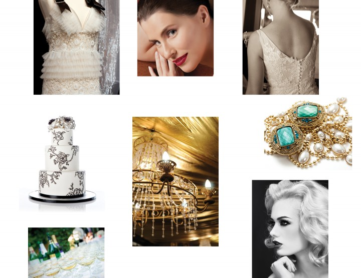 Bridal Beauty: 1920s Nostalgic Nuptials