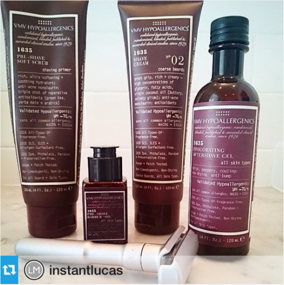 1635 Gentle Men's Therapeutic Shaving Line #skinthusiasm winner – Lucas, Instagram