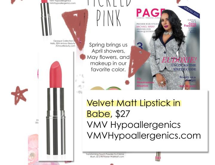 Velvet Matte Lipstick In