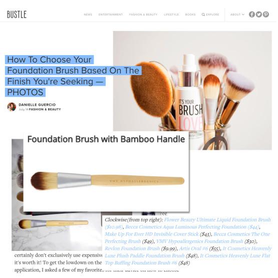 Foundation Brush - Bustle.com