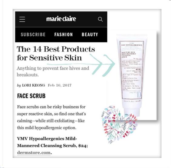 Moisture Rich Mild-Mannered Cleansing Scrub - Marie Claire Magazine