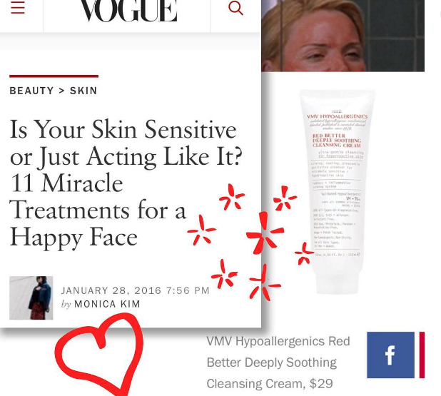 Red Better Deeply Soothing Cleansing Cream - Vogue Magazine