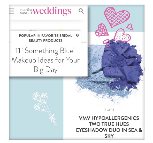 Two True Hues Eyeshadow Duo - Martha Stewart Wedding