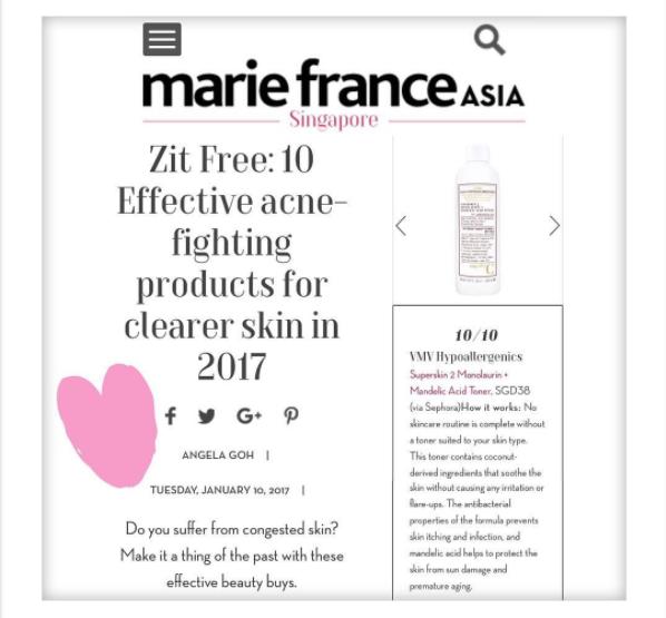 Superskin 2 Monolaurin + Mandelic Acid Toner - Marie France Asia