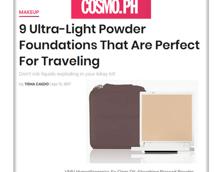 So Clear Oil-Absorbing Pressed Powder – Cosmopolitan Philippines