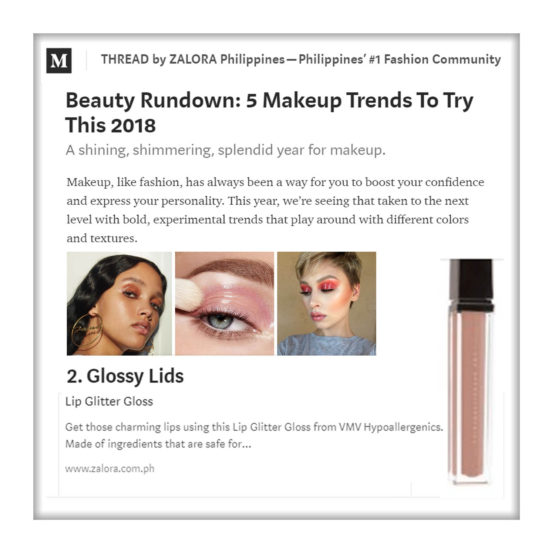 Lip Glitter Gloss - Zalora