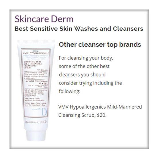 Mild-Mannered Cleansing Scrub - Skincare Derm