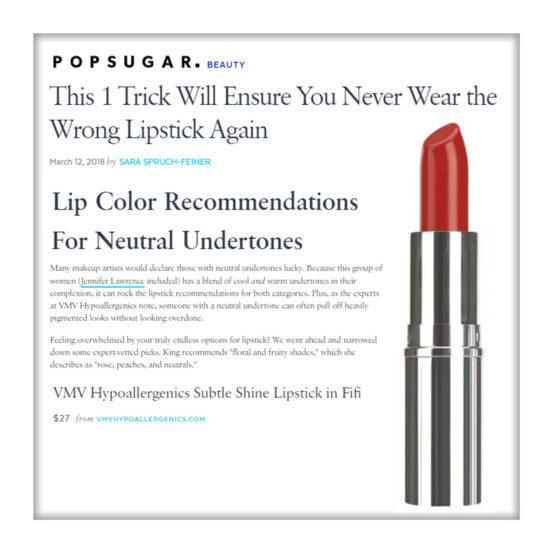 Subtle Shine Lipstick - Popsugar
