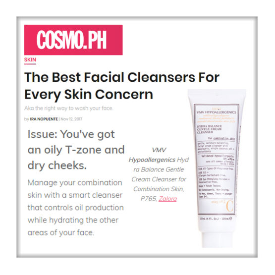 Hydra Balance Gentle Cream Cleanser for Combination Skin - Cosmopolitan Philippines