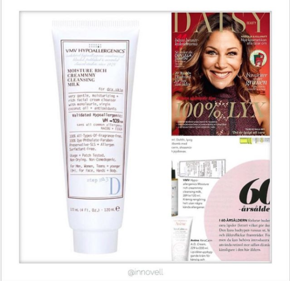 Moisture Rich Creammmy Cleansing Milk - Daisy Beauty Magazine