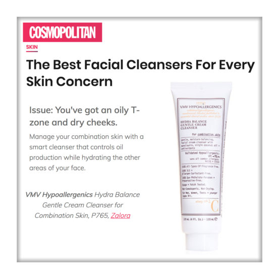 Hydra Balance Gentle Cream Cleanser for Combination Skin - Cosmopolitan Philippines